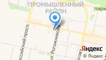Azure на карте
