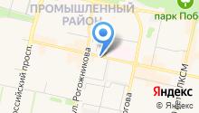 Iservice на карте