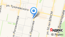 Автокомплекс на Мастеровой на карте
