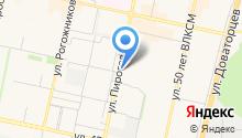 Пузофф на карте