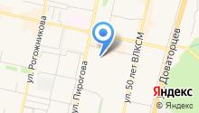 Major на карте