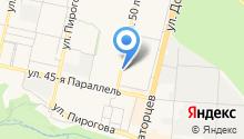 BERTA на карте