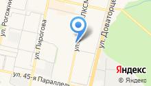 MidPoint на карте