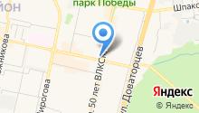 Ярга на карте