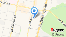 FST на карте