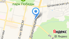 FANDOR на карте