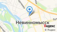 Бизнес план - Разработка бизнес плана в Невинномысске на карте