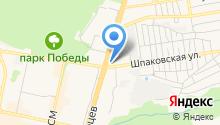 Carcade на карте