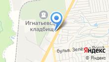 Леон, технический центр Citroen на карте