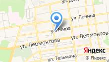 Яква на карте