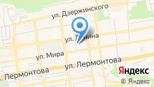 Cybercad на карте