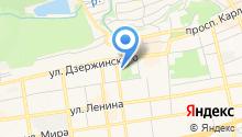 Ставропольский академический театр драмы им. М.Ю. Лермонтова на карте