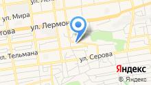 MegaHertz на карте