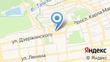 Lis на карте