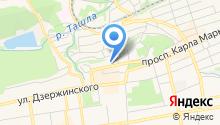 Жилищное ремонтно-эксплуатационное предприятие №5 Октябрьского района г. Ставрополя на карте