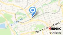 OpenSky на карте