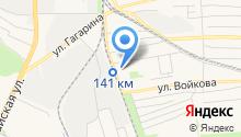 ателье кружево на карте