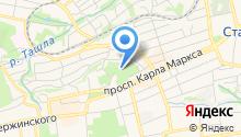 Казанский кафедральный собор на карте