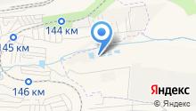 Третья речка на карте