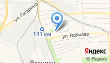 Пушкинский ценопад на карте