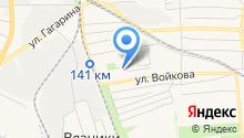 Продуктовый магазин на ул. Пушкина на карте