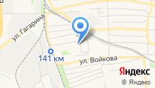 Кёкусин-кан каратэ на карте