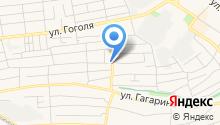 Продуктовый магазин на Курганной на карте
