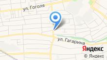 Продуктовый магазин на ул. Терешковой на карте