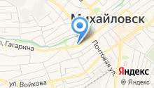 Отдел МВД России по Шпаковскому району на карте