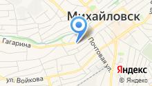 Отдел УФМС России по Ставропольскому краю в Шпаковском районе на карте