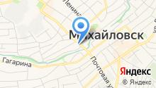 Территориальный отдел Управления Федеральной службы по надзору в сфере защиты прав потребителей и благополучия человека в Шпаковском районе на карте