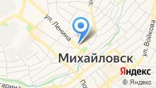 Русская деревня на карте