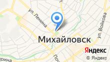 Газпром межрегионгаз Ставрополь на карте