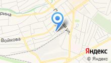 Межмуниципальное жилищно-коммунальное хозяйство Шпаковского муниципального района на карте