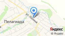 Пелагиадская сельская библиотека на карте