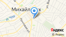 МСМ на карте