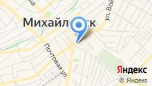 Ставропольские колбасы на карте