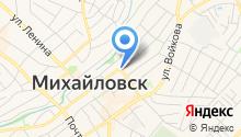 Продуктовый магазин в Кавказском переулке на карте