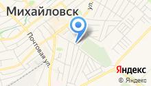 Михайловская участковая ветеринарная лечебница на карте