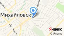 Продуктовый магазин на ул. Войкова на карте