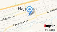 Надеждинская участковая больница на карте