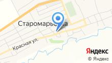 Старомарьевская врачебная амбулатория на карте