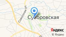 Больница на карте