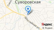 Краснодарзооветснаб, ЗАО на карте