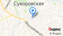 Окнофф на карте