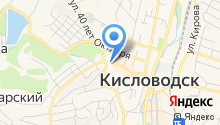 Кисловодский центральный рынок, МУП на карте