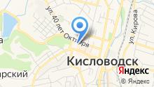 Нотариус Беликова Ф.Ю. на карте