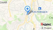 Кисловодский комплексный центр социального обслуживания населения, ГБУ на карте
