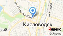 Городской на карте