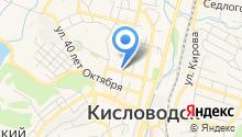 Интертек на карте